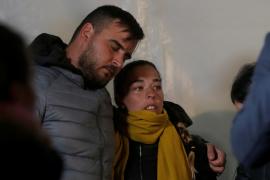 Los padres de Julen asisten a una vigilia por su hijo