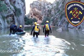 Rescate de una joven que pasó la noche en el torrente de Pareis