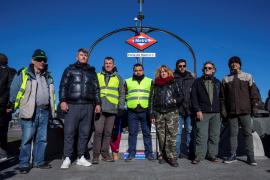 Ocho taxistas de Madrid, en huelga de hambre