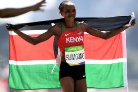 La campeona olímpica de maratón, suspendida ocho años