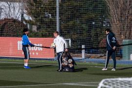 Marco Asensio se reincorpora al grupo