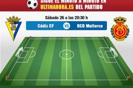 Cádiz-Mallorca, en directo
