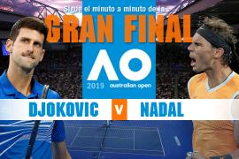 Así hemos vivido la final del Open de Australia entre Djokovic y Nadal