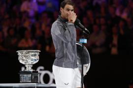 Nadal: «A pesar de la derrota es bueno estar de vuelta tras la lesión»