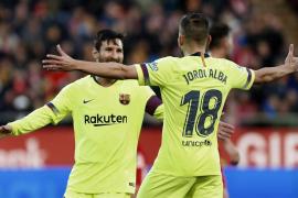 El Barcelona encadena su octava victoria en LaLiga