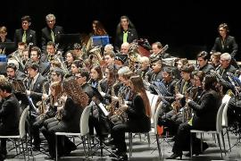 Trobada de Bandas de Música de Palma en el Palau de Congressos