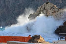 El temporal deja rachas de viento de hasta 127 km/h en Mallorca