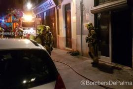 Incendio en un restaurante del centro de Palma