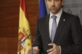 Bauzá presenta su renuncia como senador en el Parlament