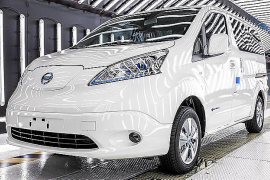 Nissan incrementará la producción de la e-NV200 eléctrica en Barcelona