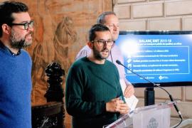 La EMT de Palma reduce su deuda de 10 millones a 500.000 € durante la legislatura