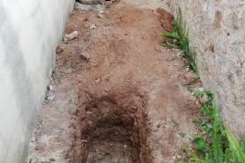 Los trabajos en Bunyola finalizan sin resultados que permitan exhumar la fosa común
