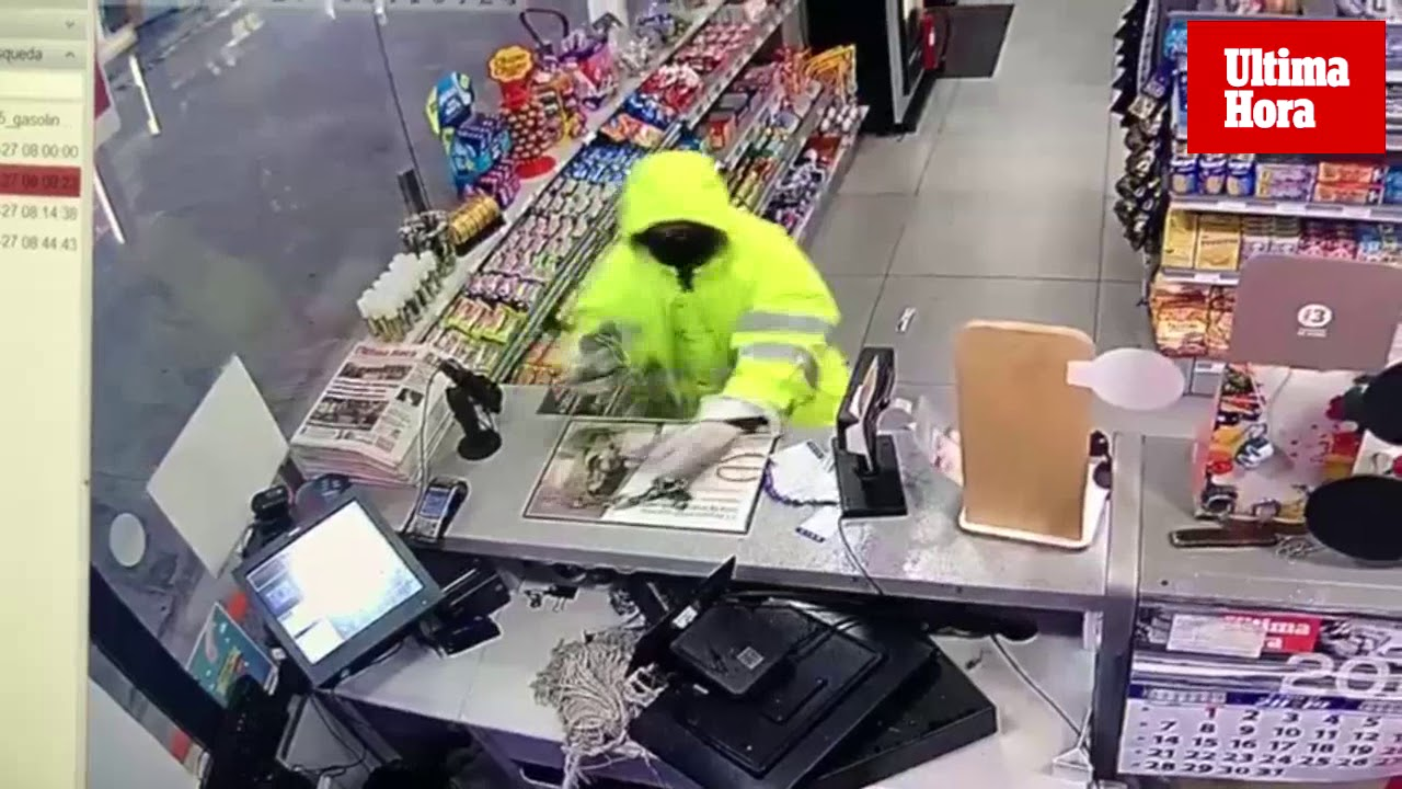El atracador de la gasolinera del Estadi Balear perdió el cuchillo en su huida