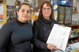 Recogida de firmas en Costitx para reclamar una rotonda en el cruce de la carretera de Sineu