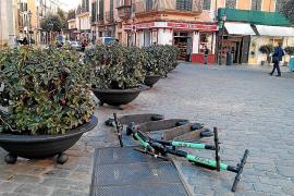 Hasta diez empresas de patinetes de alquiler piden licencia en Palma