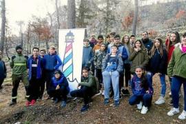 50 alumnos participarán en la reforestación con sabinas en Benirrás este viernes