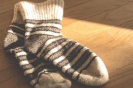 Hallan un hueso humano en unos calcetines de Primark
