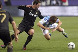 Un error de Caballero ayudó a la clasificación del Madrid (0-1)
