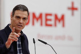Sánchez llama «tirano» a Maduro por «responder con balas la ansia de libertad»