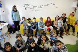 Los alumnos del CEIP L'Urgell se acercan a Juntos y al Hospital Can Misses
