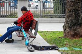 La policía de Palma no tiene orden de retirar los patinetes de alquiler de la calle