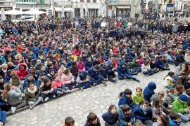 Los colegios de Mallorca celebran el día de la Paz