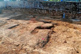 Denuncian un intento de expolio en los yacimientos de las obras de Ca na Negreta