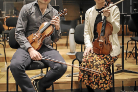 Francisco Fullana y Midori: «Uno tiene que entrenarse para tocar, escuchar y reaccionar rápidamente»