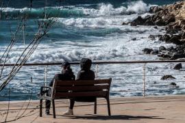 Llega 'Helena', una nueva borrasca que dejará fuertes rachas de viento el fin de semana en Baleares