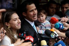 Guaidó denuncia que la policía venezolana ha ido a su casa