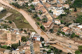 Sant Llorenç comprará los solares de al lado del torrente afectados por la riada