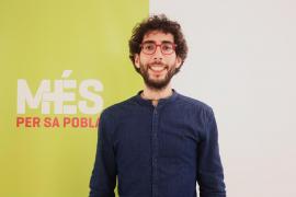 Antoni Simó, candidato de Més a la alcaldía de sa Pobla