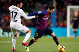 El Valencia corta la racha del Barcelona