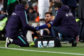 Messi es duda para el Clásico