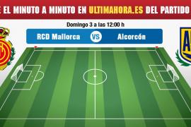 Mallorca-Alcorcón, en directo