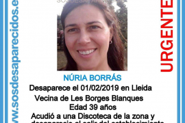 Buscan a una profesora desaparecida en Lleida