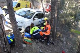 Muere una turista arrollada por su propio coche en Andratx