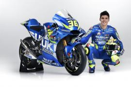 Joan Mir presenta la Suzuki con la que salta a MotoGP