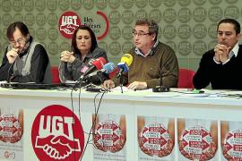 UGT afirma que se ha despedido a cerca de 1.000 empleados públicos