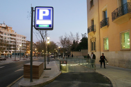 Cuatro aparcamientos de Palma ofrecen una tarifa nocturna de 30 euros al mes