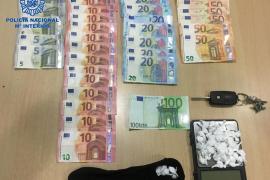 Detenido por trapichear con cocaína en el parking de un súper de Manacor