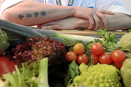 Rodrigo de la Calle: «Defiendo que la verdura, además de sana, está buena»
