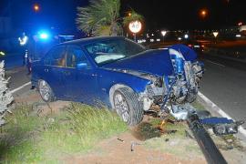 Detenida una conductora que cuadruplicó la tasa de alcohol tras un accidente en Sant Antoni