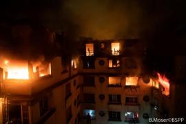 Una decena de muertos en un virulento incendio provocado en París