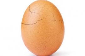 El famoso huevo de Instagram esconde una campaña sobre salud mental