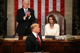 Trump pide unión en un discurso que confirma una segunda cumbre con Kim Jong-un