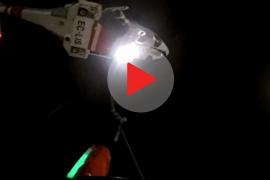 Laboriosa evacuación en alta mar de una pasajera de un crucero en Mallorca