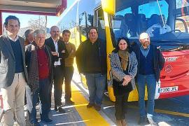 El Govern invierte 800.000 euros en mejorar el corredor de bus de la bahía de Alcúdia