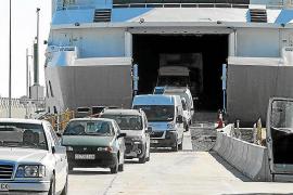 El puerto de Formentera es el único en el que cayó el tráfico de mercancías en Balears