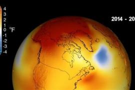 2018 fue el cuarto año más cálido desde 1880 en el mundo